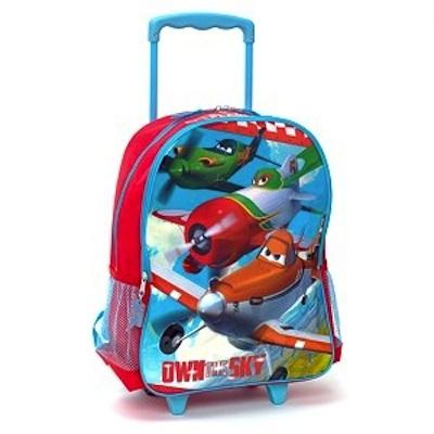 mochila con ruedas de aviones dusty
