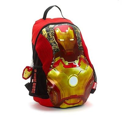 mochila iron man