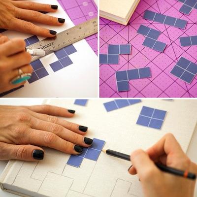pasos para decorar cuadernos