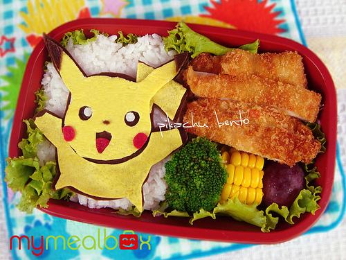 tupper niños pikachu pokemon