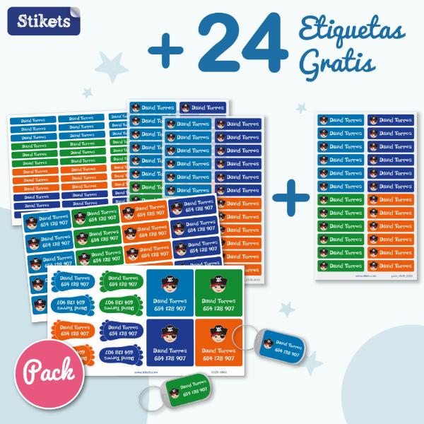 24 etiquetas de Stikets gratis
