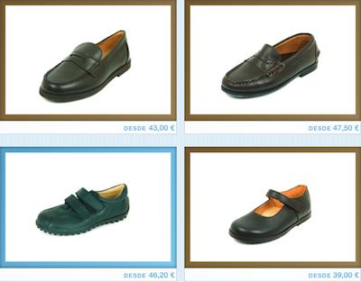 zapatos escolares online