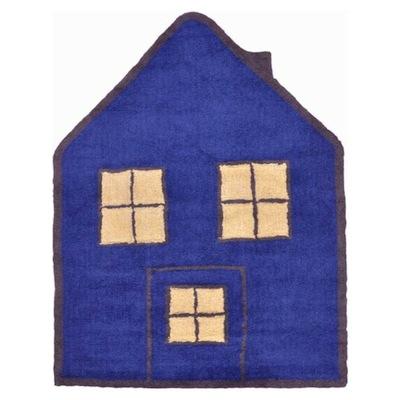 Alfombra Infantil Casa Azul