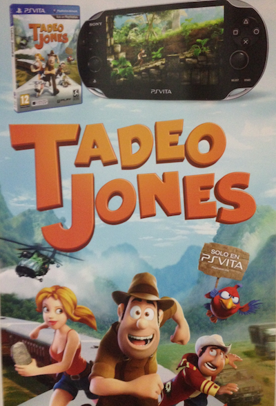 Tadeo Jones PS Vita