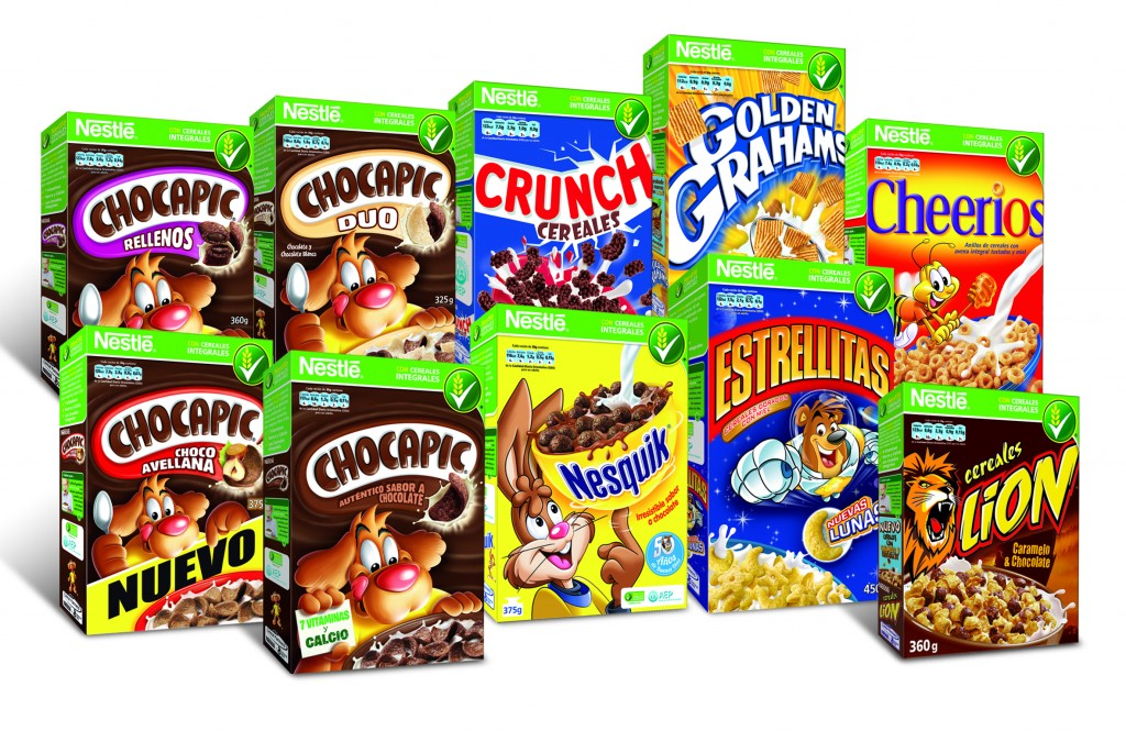 cereales infantiles nestle, nuevos chocapics avellanas