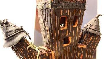 5 casitas de jengibre para Halloween que a tus hij@s les encantarán