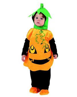 Disfraz bebé calabaza, talla 6-12 meses