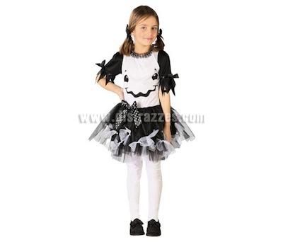 disfraz fantasma niña halloween