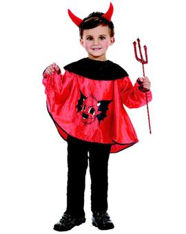 Disfraz niño diablo talla 3-4 años