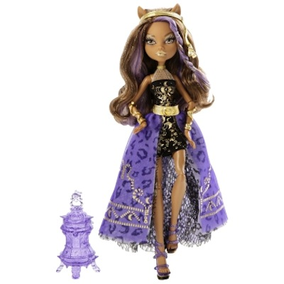 Monster High Clawdeen Wolf 13 monstruo deseos deluxe