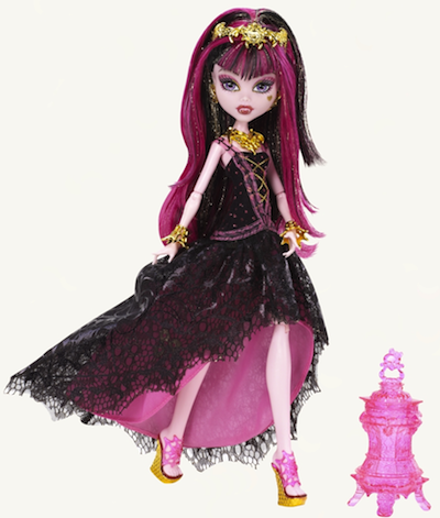 Monster High Draculaura 13 monstruo deseos deluxe