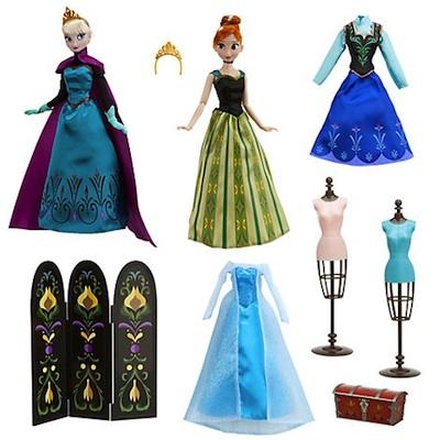 Set muñecas de lujo Frozen