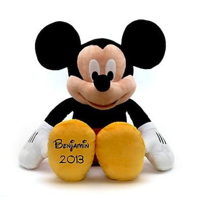 peluche mickey mouse personalizado