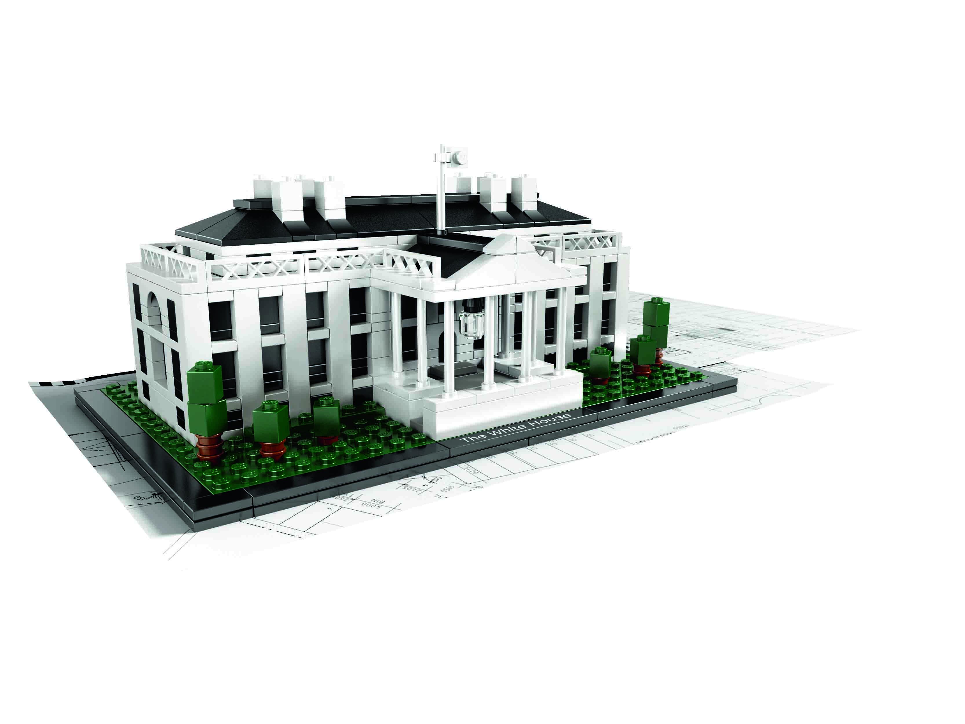 Casa Blanca Lego