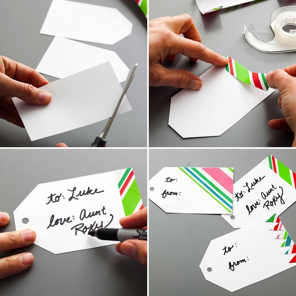 Tarjetas para marcar regalos