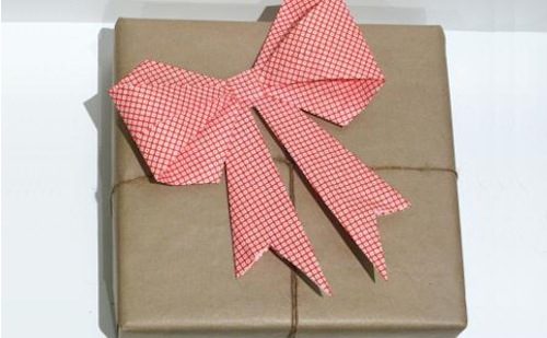 reutilizar papel de regalo