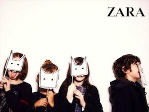 Catálogo Zara KIDS moda infantil
