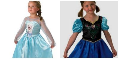 Disfraces Frozen disfraz de Elsa y disfraz de Anna de la película Frozen