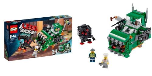 El triturador de basura de la LEGO Película