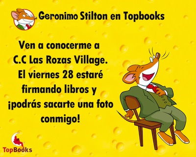 Geronimo Stilton Las Rozas Village Madrid