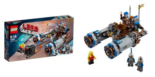 La caballería del castillo  de la LEGO Película