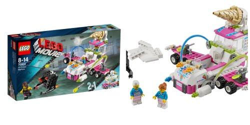 La máquina de helados de la LEGO Película