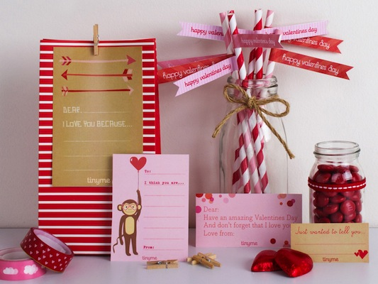 San Valentin DIY descargables gratuitos