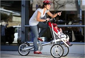 Taga bike bicicleta con silla bebe