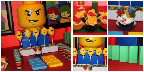 Fiesta infantil de la LEGO Pelicula