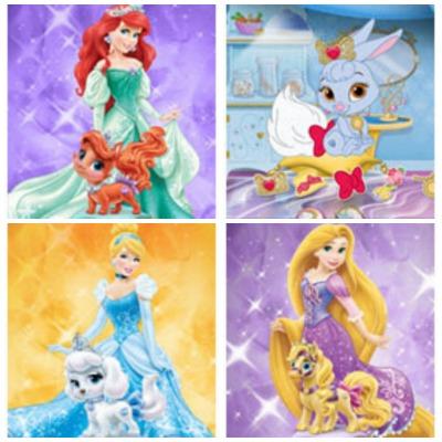 Palace Pets app gratis de Disney para niñas