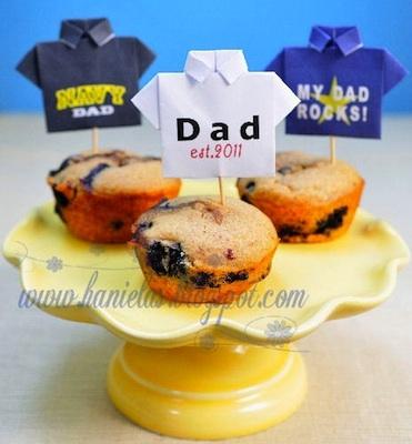 decora cupcakes para dia del padre