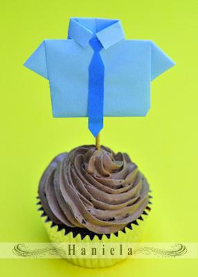 decoracion cupcakes para el dia del padre