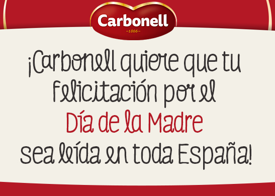 Dia de la Madre Carbonell