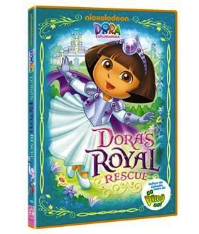 DVD Dora al rescate, con los episodios