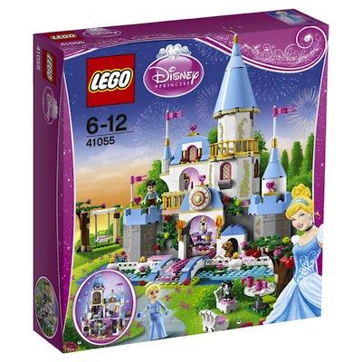 LEGO Princesas Disney El romantico castillo de Cenicienta