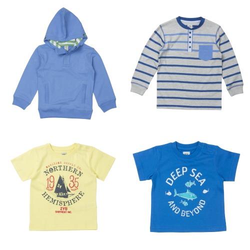 Moda infantil niños para primavera verano 2014