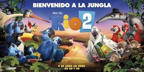 RIO 2 sorteo de un pack de película