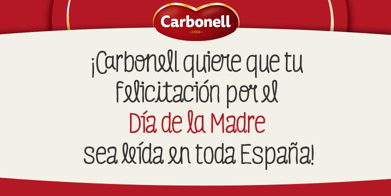 Dia de la Madre tweet Carbonell