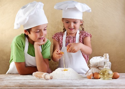 taller de cocina Peque Chef para niños