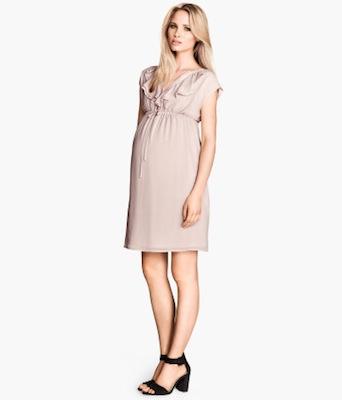 Vestido premamá de H&M