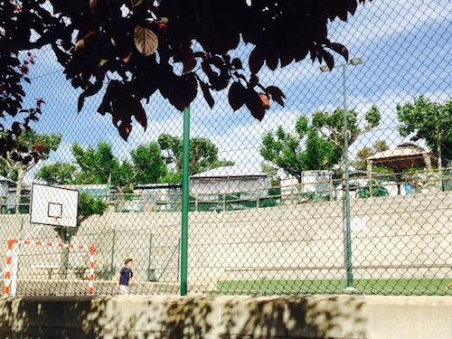 pista de fútbol Berga Resort