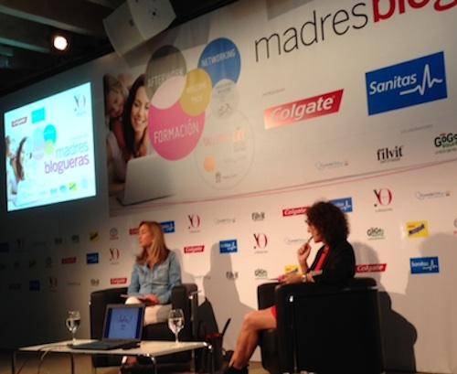 Marta Michel Directora de Yo Dona con Isabel García-Zarza de Mi Vida con Hijos