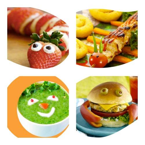 recetas infantiles faciles y divertidas