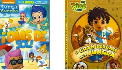 sorteo dvd bubble guppies go diego go