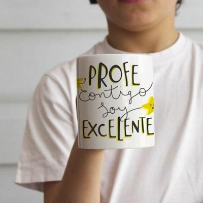 tazas personalizadas con mensaje regalo de fin de curso para profesores