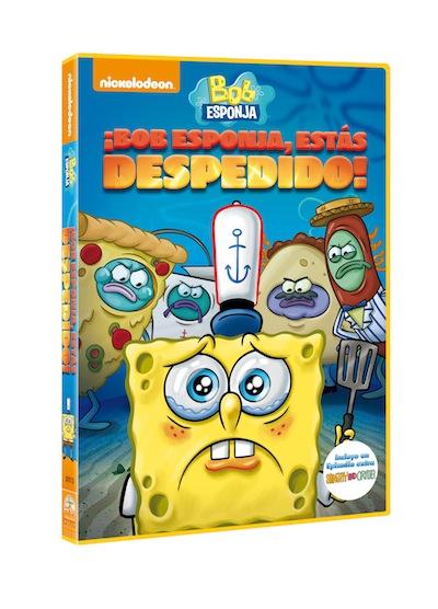 Bob Esponja estas despedido DVD