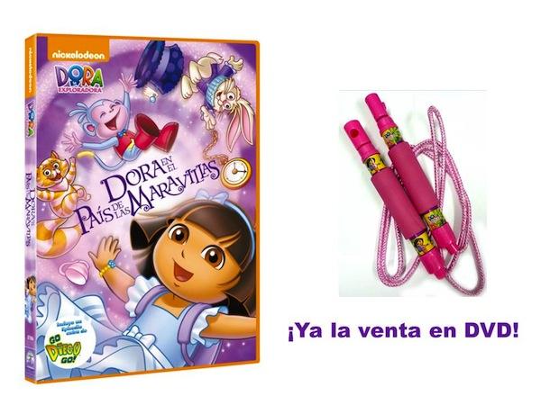 DORA EN EL PAÍS DE LAS MARAVILLAS DVD