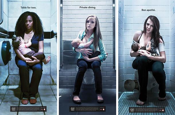 Campaña en apoyo a la lactancia materna