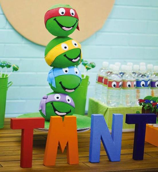 decorar fiesta tortugas ninja
