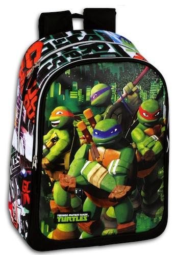 Mochila pequeña Tortugas Ninja
